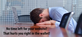 No Time Left for your Website? Here's Three ways Out